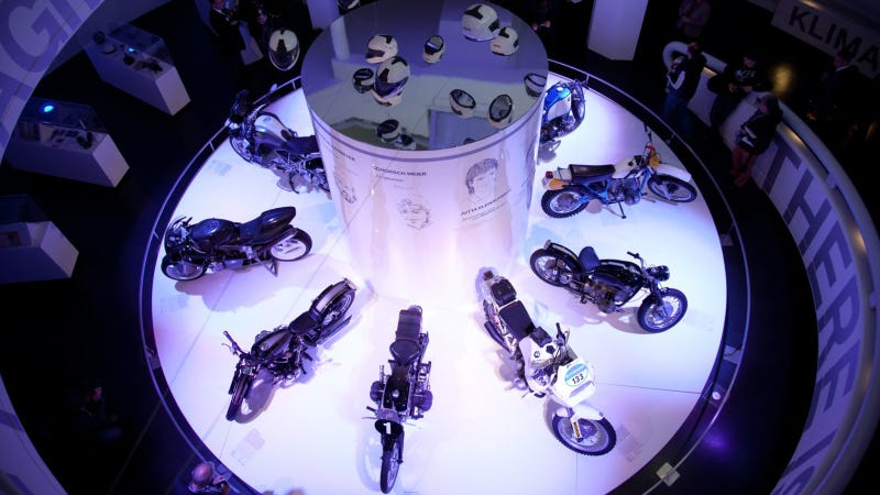 Illustration for article titled BMW Motorrad Celebrates Its 90th Anniversary In The BMW Museum