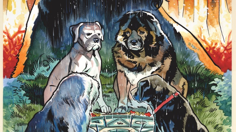 Illustration for article titled Beasts Of Burden returns for a new horror adventure in this exclusive preview