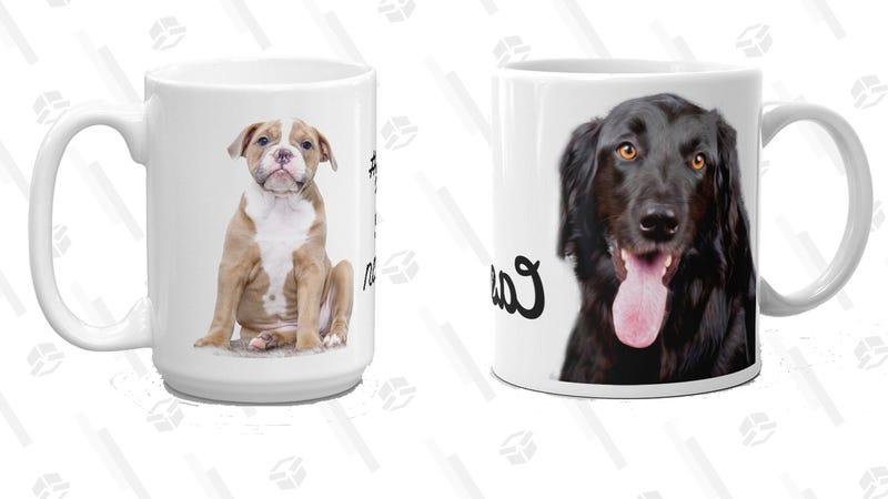 Personalized Dog Mug | $13 | Etsy