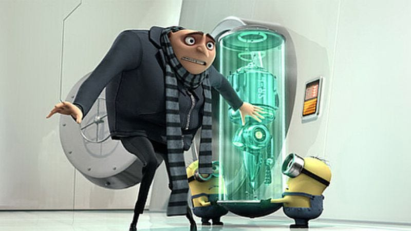 Illustration for article titled Despicable Me