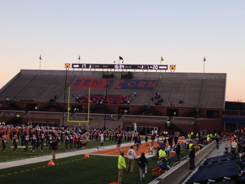 Illustration for article titled The Illinois Student Section Is The Saddest-Est