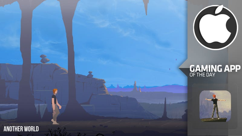 Illustration for article titled The Beautiful, Mysterious Classic Another World is Reborn on iOS