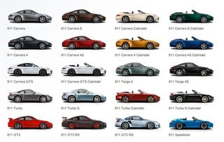 Illustration for article titled The Post Where We Welcome Car Magazine To Our Porsche 911 Variant Rant