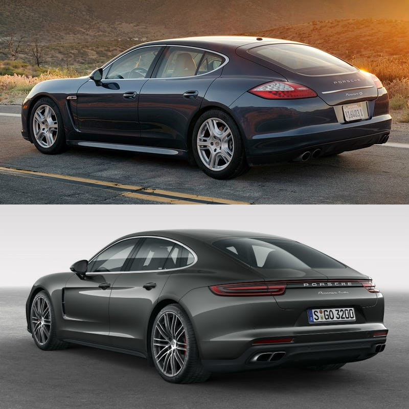 Illustration for article titled All Porsche needed to fix the Panamera was a little rear quarter window (and 991 butt)