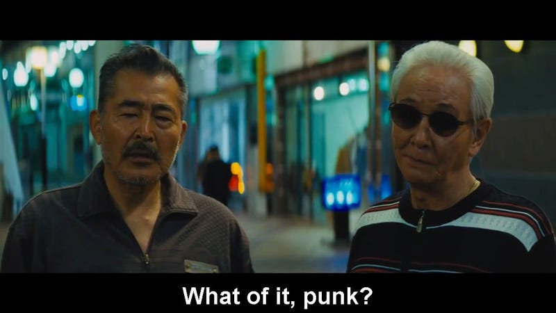 Illustration for article titled Old Yakuza Are Tough as Nails in Beat Takeshi's New Movie