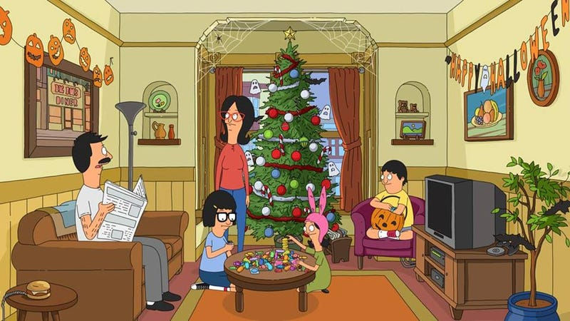 Illustration for article titled Enjoy a Christmas Song from Bob's Burgers and The National