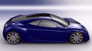 Illustration for article titled Voisin Concept Designed To Compete with Bugatti Veyron, Uses Audi's V12 TDI