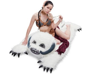Illustration for article titled Furry Wampa Rug Is Essential for Making Hoth Love