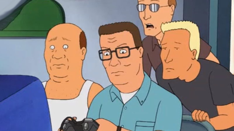 Illustration for article titled The First And Only King Of The Hill Video Game Came Out 19 Years Ago And It's Boring
