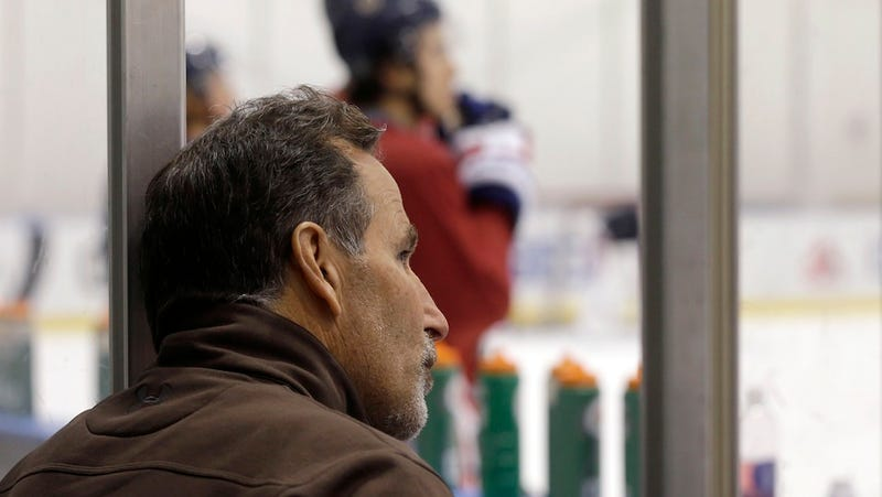 Illustration for article titled Who's Happiest The NHL Lockout Is Over? John Tortorella's Wife.