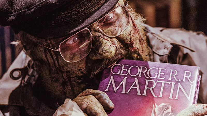Illustration for article titled Not Even the Zombie Apocalypse Can Stop George R. R. Martin From Releasing Books