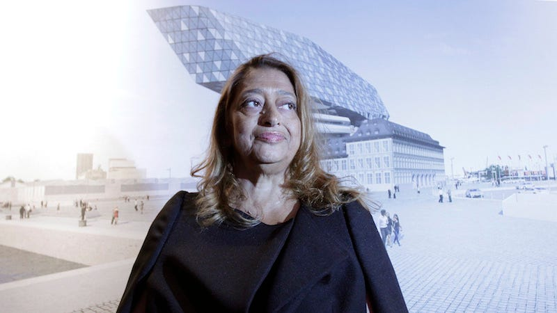 Illustration for article titled Architect Zaha Hadid, First Woman to Win the Pritzker Prize, Dies at 65
