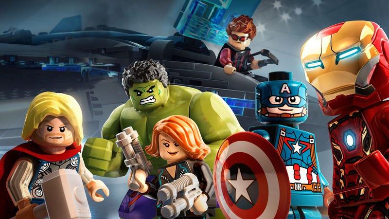 Imagen del videojuego de Lego Avengers