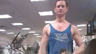 Illustration for article titled New Nearly-Nude Pics Show Weiner In Congressional Gym