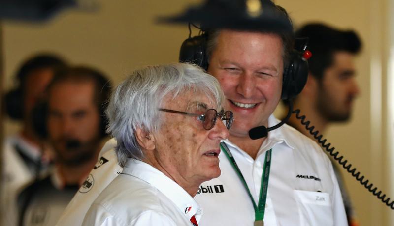 Formule One CEO Bernie Ecclestone at the Abu Dhabi Grand Prix. Photo credit: Clive Mason/Getty Images