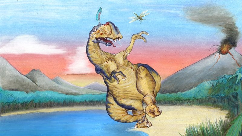 Paleontologists say this prehistoric dope was once the most dominated nitwit on the planet.