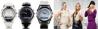 Illustration for article titled Sony Ericsson Pretties-Up Its Bluetooth Watches, MBW-200's for the Ladies