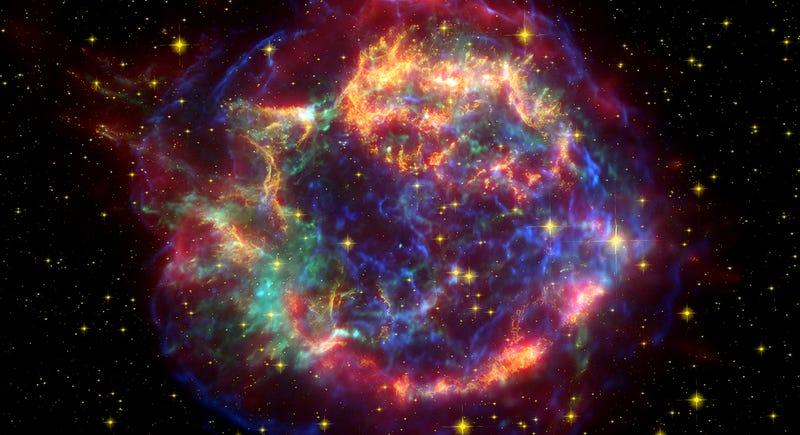 Un nuevo modelo 3D detecta burbujas en el interior de las supernovas