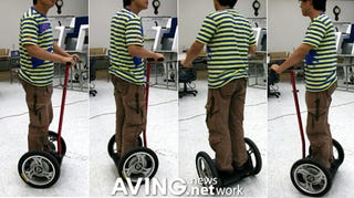 Illustration for article titled Koreans Make Segway That's Half the Price, Many Times More Korean