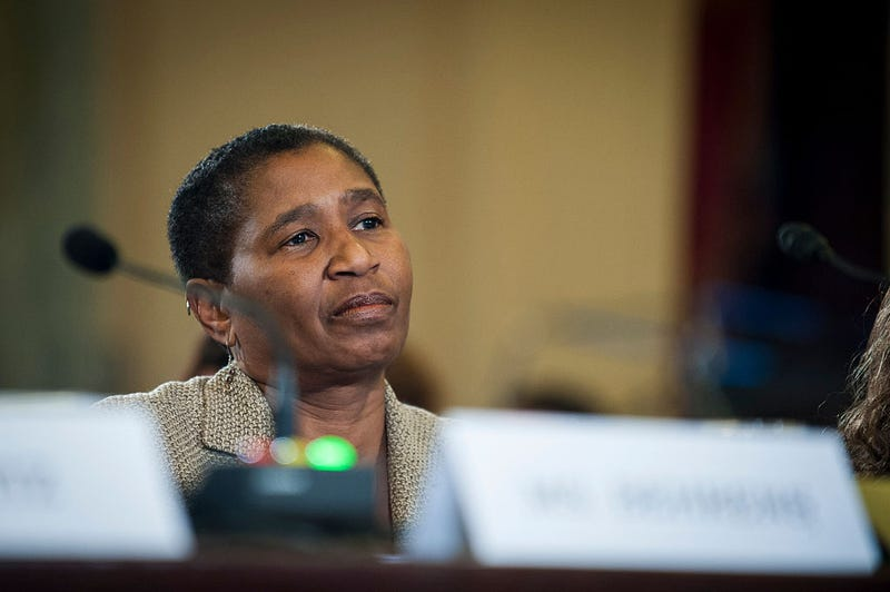 Michele Roberts (Pete Marovich/Getty Images)