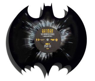 Illustration for article titled Holy Record Pressing Batman, it's a Bat-logo-shaped Vinyl!