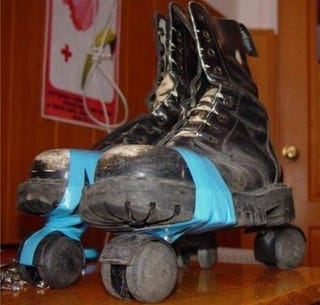 Illustration for article titled These DIY Office Roller Skates Are Bound to Break Some Limbs