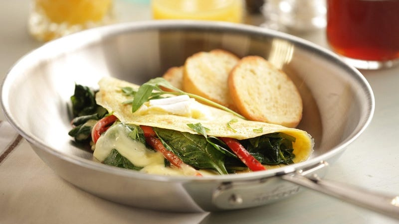 """All Clad Tri-Ply Skillets: 12"""" with lid, $90 