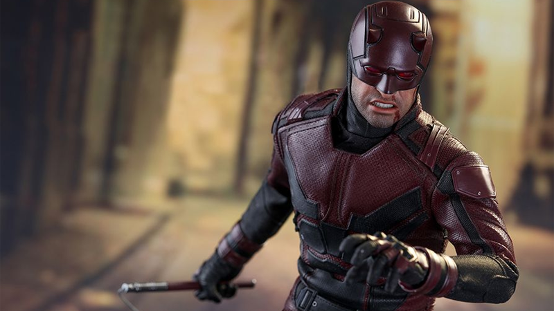 The Daredevil Hot Toys Figure Hell's Kitchen Deserves