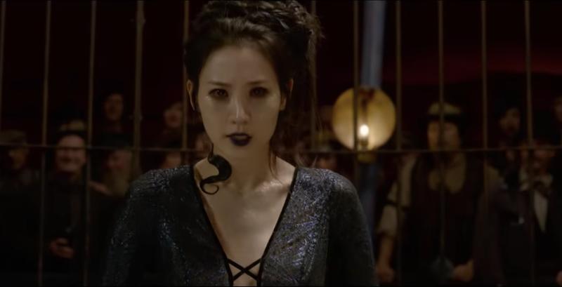 Claudia Kim as Nagini in Fantastic Beasts: The Crimes of Grindelwald