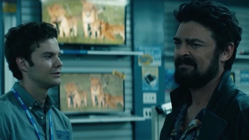 Karl Urban is us after watching this new trailer for The Boys: Grossed out, but pleased.