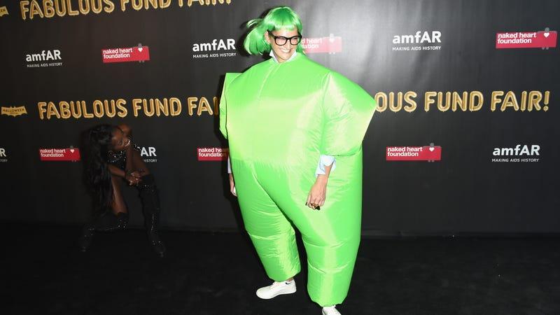 Jenna Lyons, amfAR & The Naked Heart Foundation Fabulous Fund Fair. Image via Getty.