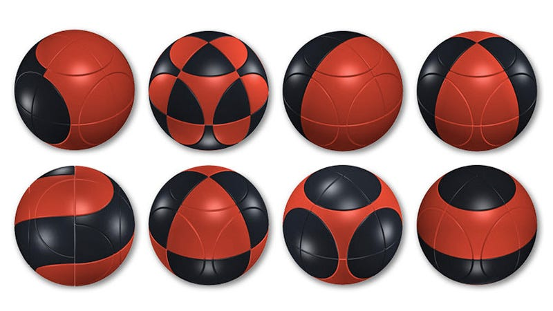 Illustration for article titled Tackle This 3D-Printed Spherical Rubik's Cube If You Hate Yourself