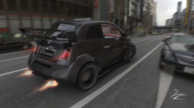 Crazy Italian Designers Want To Build That Fiat 500 With A Ferrari V8