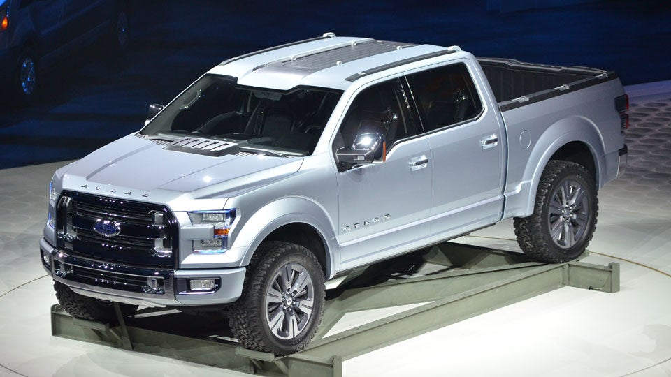 the ford atlas concept is the 2015 f 150. Black Bedroom Furniture Sets. Home Design Ideas