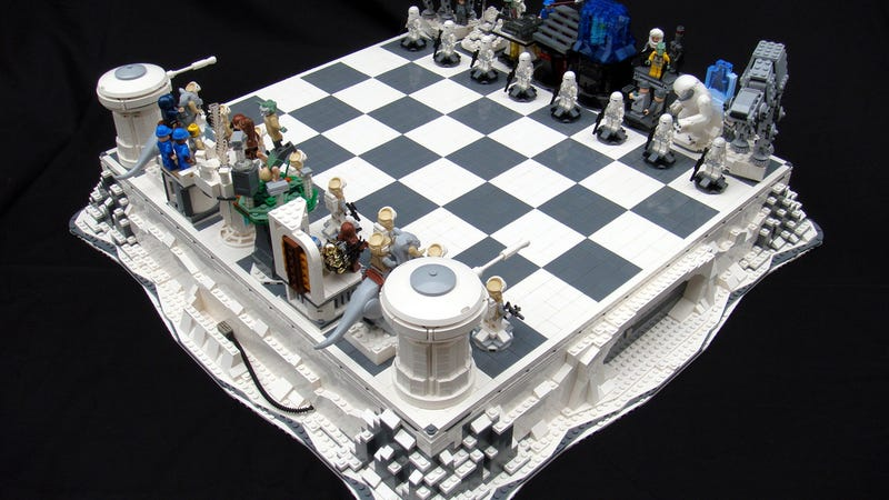 Lego Star Wars Chess Sets Are Swankier Than Vader 39 S Vinyl