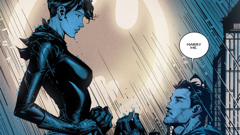 Image: DC Comics, Batman #24, art and lettering by Danny Miki, David Finch, Jordie Bellaire, and Clay Mann