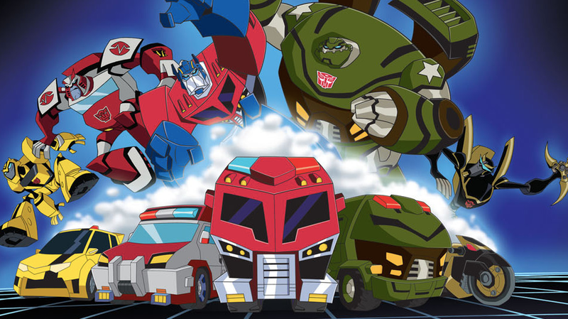 The Autobots of Transformers: Animated.