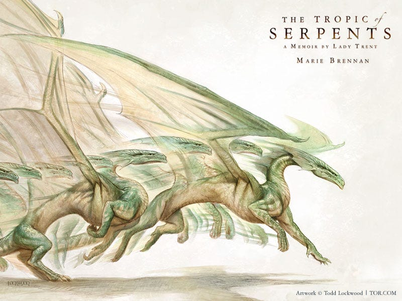 Image result for The Tropic of Serpents by Marie Brennan