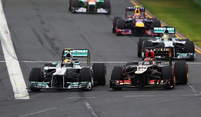 Illustration for article titled Kimi Raikkonen Wins An 'Easy' Australian Grand Prix