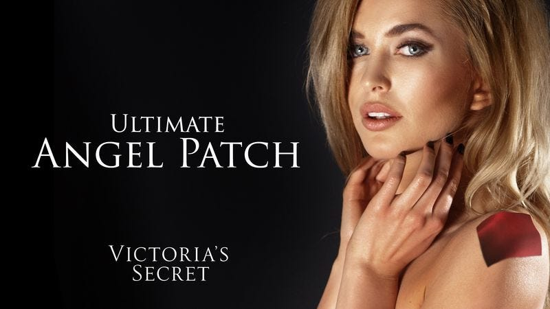 Illustration for article titled Victoria's Secret Introduces 3-Inch Patch Of Satin To Place Anywhere On Body
