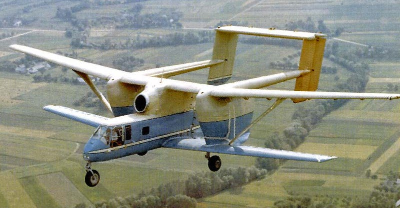 """Illustration for article titled Is The PZL M-15 """"Belphegor"""" The Ugliest Production Jet Airplane Of All Time?"""