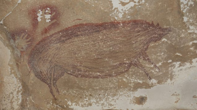 Cave Painting of Pigs Might Be the Oldest Known Artwork of Animals