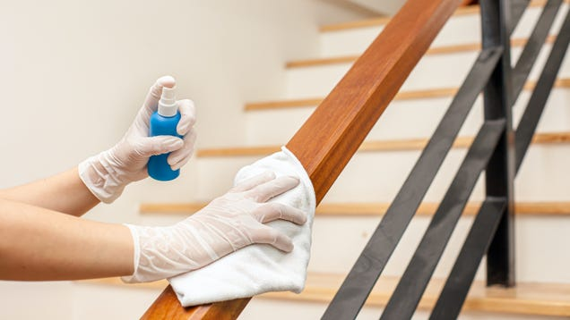 You Can Stop Disinfecting Your Home Now, CDC Says