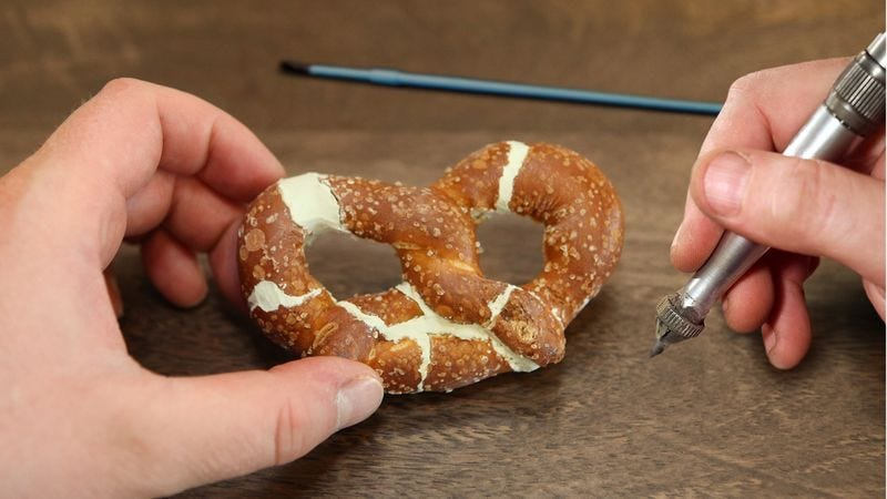 The Snyder's of Hanover pretzel is said to be more complete than the famous specimen discovered in 2002 under the driver's seat of a Hyundai Accent.