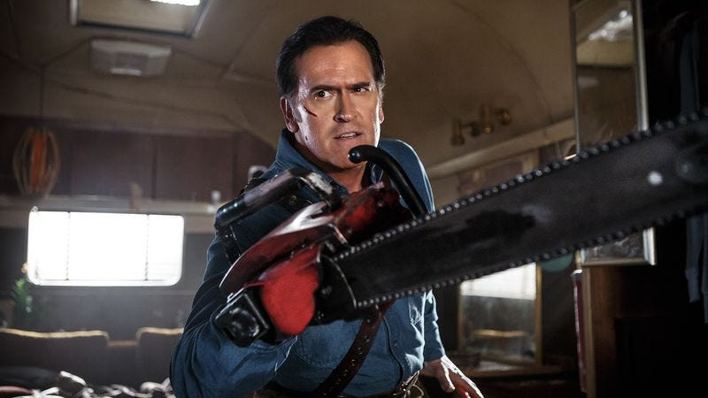 Illustration for article titled Ash Vs. Evil Dead is best when it sticks to the basics