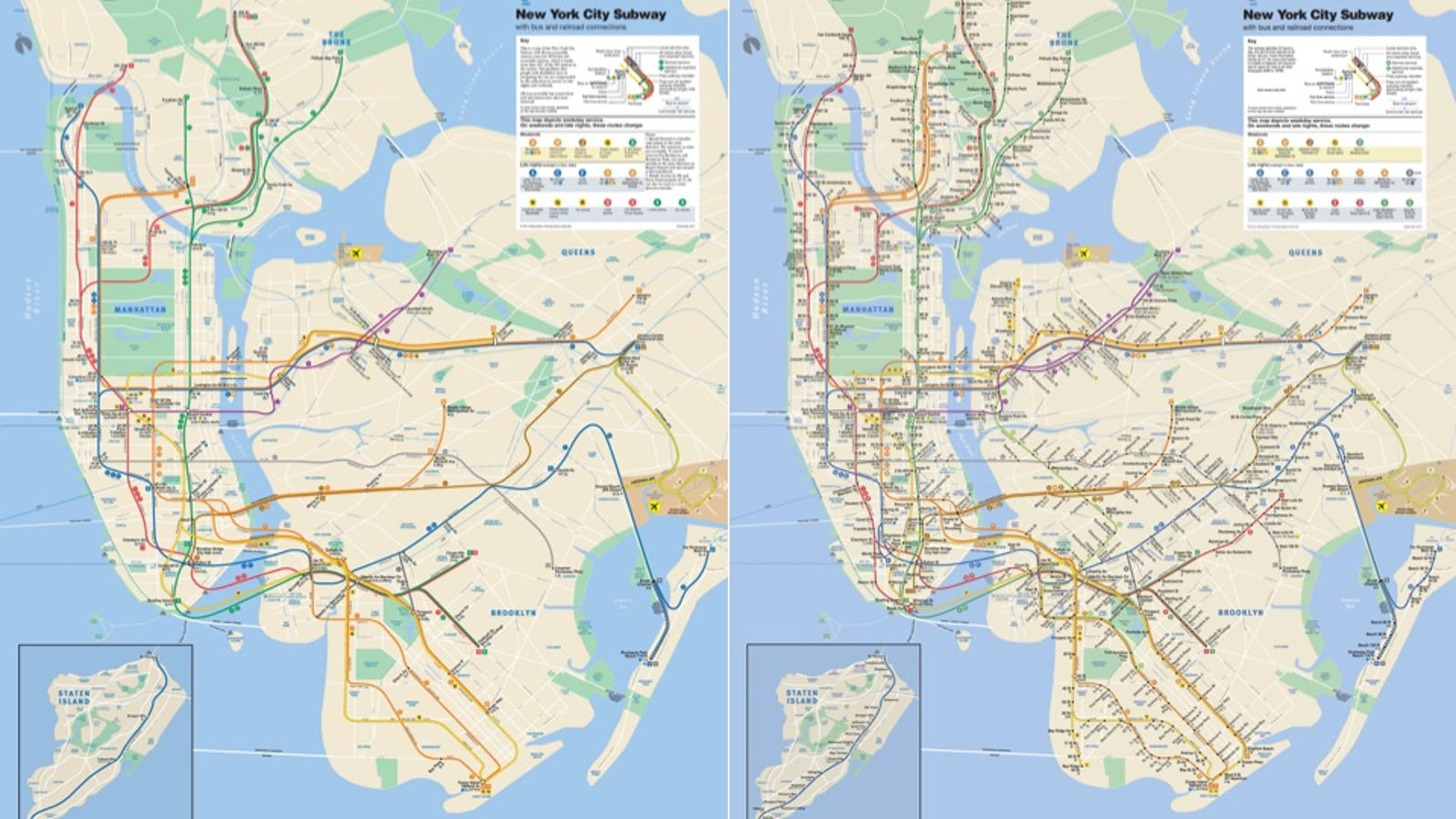 San Diago Subway Map.A Simple Map Shows Just How Shitty The Nyc Subway System Is For