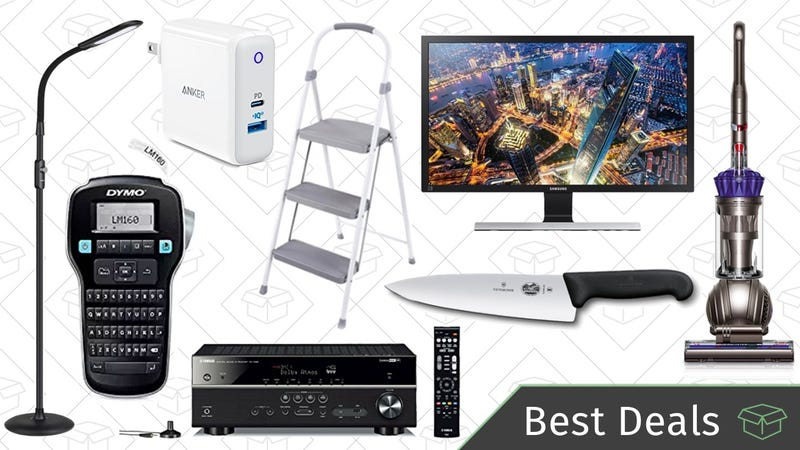 Illustration for article titled Friday's Best Deals: 4K Monitor, Dyson Vacuum, OLED TVs, and More