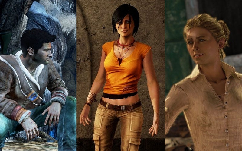 Virtual Fashion What Theyre Wearing In Uncharted 2-5504