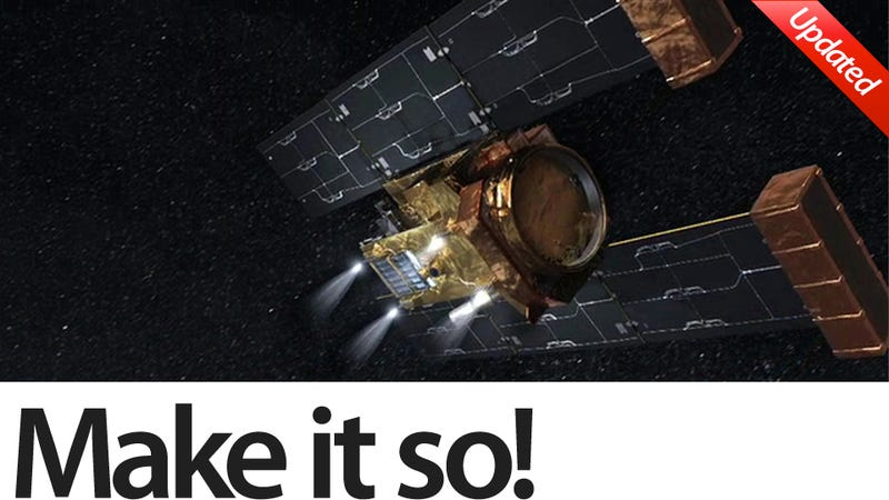 Illustration for article titled Why Is NASA Burning Out Its Comet Hunting Spaceship?