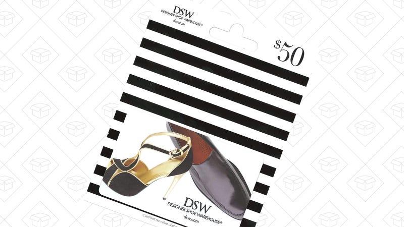 $50 DSW Gift Card | $40 | Amazon | Use code DSW10